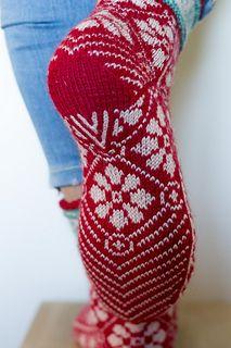 Forslag til strikkepinner: 2, 2,25 eller 2,5 mm. Velg det som gir riktig strikkefasthet.