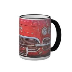 Vintage Red Vette Mug Dad's Will Love This!
