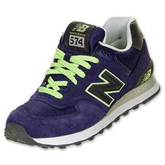 The New Balance 574 Suede Women's Casual Running Shoes are a smart, updated  spin on