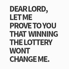 I'll stay humble. Amen.