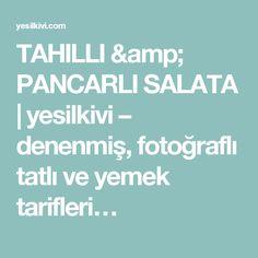 TAHILLI & PANCARLI SALATA   yesilkivi – denenmiş, fotoğraflı tatlı ve yemek tarifleri…