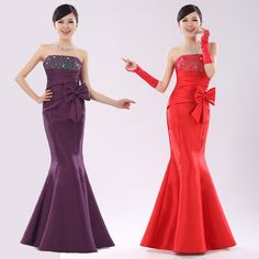 Aliexpress.com : Buy Mermaid New Style Evening Dresses Free Shipping from Reliable dresses free shipping suppliers on HONEYSTORE CO., LIMITED. $164.79