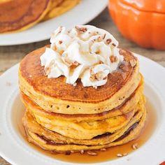Pumpkin Pancakes Recipe - Somewhat Simple