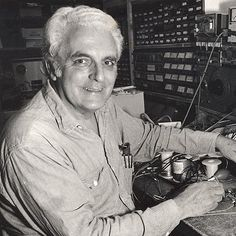 The inventor of the Moog synthesizer, Dr. Robert Moog, was born on this date in 1934.