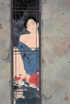 The art of Takato Yamamoto Японский художник, родившийся в 1960 году. После долгих экспирементов с традиционным японским гравированием по дереву (Уки-ё) смог создать свой неповторимый стиль. Конечно существенное влияние на его творчество оказали произведения европейских мастеров времен модерна -…