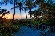 Gorgeous Capitva Island at sunset.
