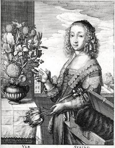 It's About Time: Economics in the Garden - Personifications & Tulips - 1600s