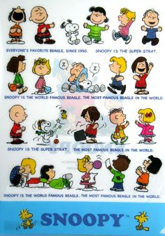 Snoopy & the Peanuts Gang ~ღ~