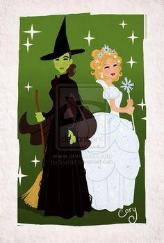 Wicked-Best Friends by ~Cor104 on deviantART