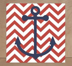 Nautical Theme, Regatta, Children's Wall Art, Nursery Wall Art, Children's Canvas- Set of four 10x10 stretched canvas Pottery Barn inspired
