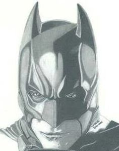 Drawing: The Dark Knight