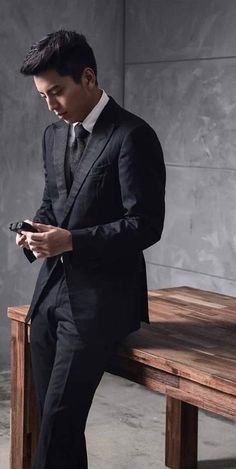 Asian Guys, Asian Men, Darren Wang, Actors & Actresses, Wolf, Suit Jacket, Handsome, Jackets, Fashion