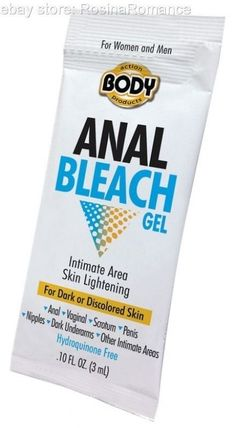 Specially formulated for those intimate areas! This can be used by both men and women to help whiten & brighten your anal and vaginal area, scrotum, penis and nipples. #Anal #Bleach #Gel #Free #Sample #Sachet #Bottle #Intimate #Lightening