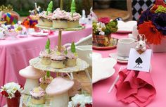 Alice in Wonderland wedding decor