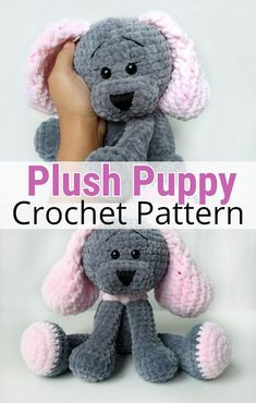 Plush Puppy Stuffed Animal Crochet Pattern Plush P. - Susam- Plush Puppy Stuffed Animal Crochet Pattern Plush Puppy Stuffed Animal Plush Puppy Stuffed Animal Crochet Pattern Plush P. Crochet Amigurumi Free Patterns, Crochet Animal Patterns, Stuffed Animal Patterns, Crochet Animals, Crochet Dolls, Crochet Baby, Free Crochet, Crochet Stuffed Animals, Newborn Toys