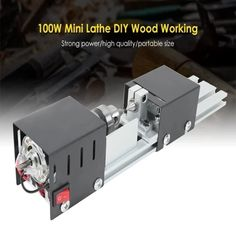 Woodworking Bench Plans, Woodworking Clamps, Woodworking Projects, Woodworking Supplies, Diy Lathe, Wood Lathe, Mini Diy, Carpentry Tools, Woodshop Tools