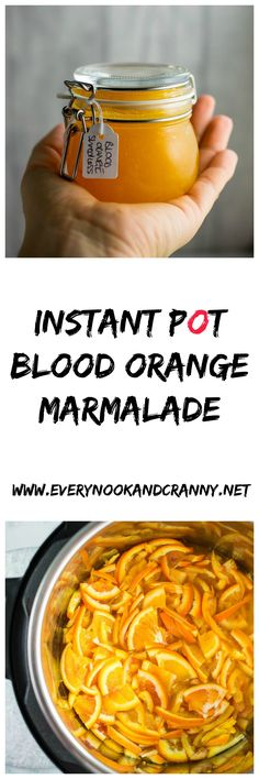 How to make blood orange marmalade in your Instant Pot