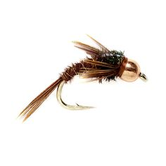 Tied on a curved hook, this variation on the Pheasant Tail offers a different look to a classic pattern. Imagine two Quasimodos in tandem, or as dropper flies tied off of a Tunghead Mayfly. Infinite possibilities. Tied with a bead and in the flashback style, these nymphs will work for a number of mayfly species and makes great dropper flies. Sizes: 14, 16, 18, 20.