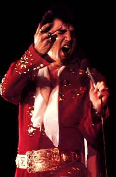 Elvis 1972 Burning Love jumpsuit