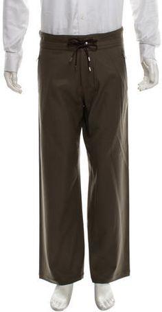Louis Vuitton Wool Cropped Pants Mens Dress Pants, Cropped Pants, Taupe, Louis Vuitton, Wool, Stylish, Fashion, Beige, Moda