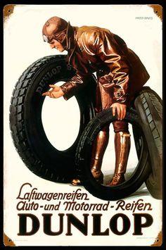 Dunlop - Harold Anderson - Laftwagenreifen auto - und motorrad - reifen Dunlop