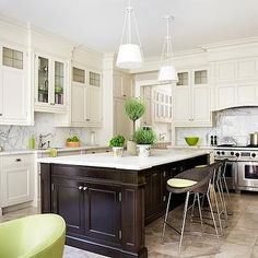 Liance Placement Enchanted Home Transitional Kitchen Robin