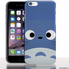 Coque Motif Totoro iPhone 6 Apple | Dimension 4.7 pouces. #Manga #Totoro #Apple #iPhone6