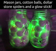 Eerie Spiders in a Jar-spider-glow.jpg                                                                                                                                                                                 More