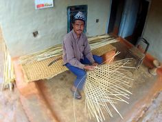 Basket Weaving in Nepal
