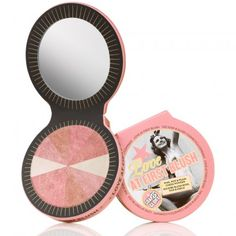 Soap and Glory 'Love at First Blush'.  It's an amazing blusher and gives definition to your cheeks. I highly recommend it.