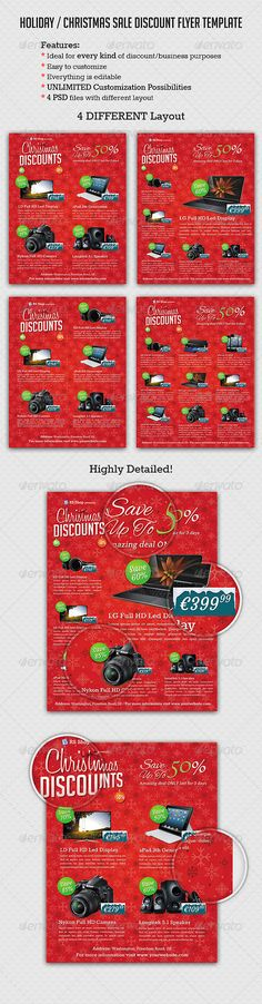 Big Sale Promotion Flyers Promotion, Flyer template and Print - discount flyer template