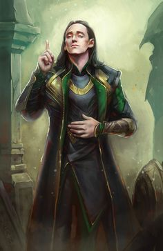 loki by jeanlotus Fan Art / Digital Art / Drawings / Movies & TV©2013-2014 jeanlotus