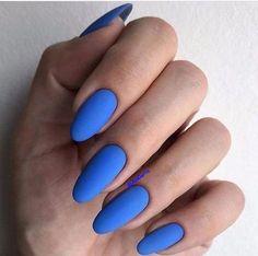 Perfect Nails, Gorgeous Nails, Pretty Nails, Hair And Nails, My Nails, Dream Nails, Nail Games, Nagel Gel, Blue Nails