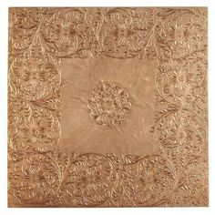Embossed Placemat - Copper - not sure what we would do with it, but is similar to the sink...?