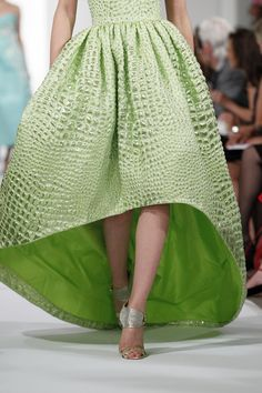 Oscar de la Renta spring 2014. New York Fashion Week