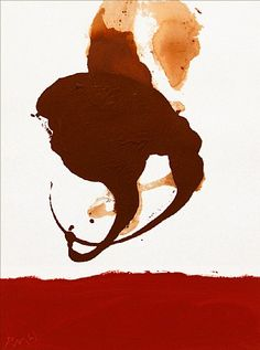 Robert Motherwell - Untitled. #art #abstract #expressionism