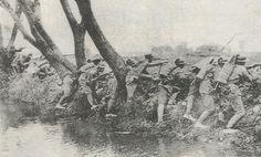 罗店月浦战役我军依托河边阵地阻击日军