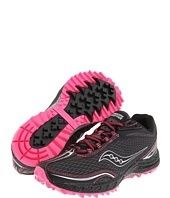 Running, running, running with pink shoes