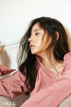 Min Hyo-rin // Vogue Korea