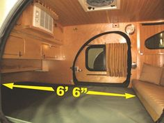 Teardrop Trailer Interior, Building A Teardrop Trailer, Teardrop Trailer Plans, Teardrop Caravan, Small Camper Trailers, Cargo Trailer Camper, Small Travel Trailers, Rv Trailers, Mini Camper