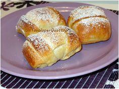 Fagottini di pasta brioche alle mele e uvetta   il Blog Le farine magiche