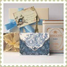 Paris Blue Gift Box