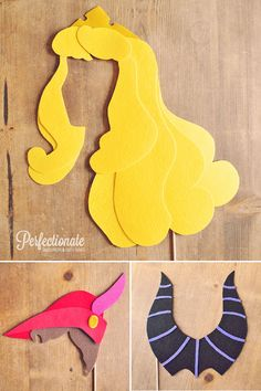 Sleeping Beauty Prop Set // Aurora Prop // Disney Princess Photo Props // Maleficent Prop // Disney Theme Wedding Photo Booth Props // Felt
