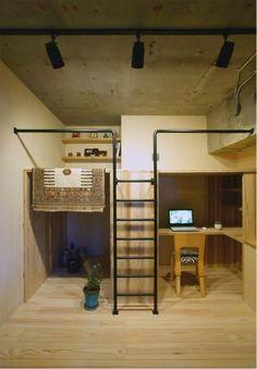 壁収納ベッド(標準品~特注)横型 格納ベッド、格安オーダー renofurniture(リノファニチャー) 壁面収納