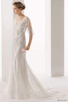 Blog OMG - I'm Engaged! - Vestido de Noiva Rosa Clará. Wedding dress.
