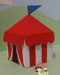 Resultado de imagem para Moldes tenda circo em feltro