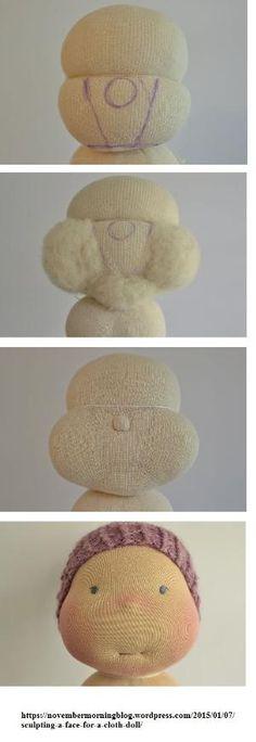 Bildergebnis für waldorf puppe schnittmuster | Waldorf | Pinterest ...