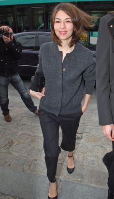 Sofia Coppola - Celebs attend the Louis Vuitton Show