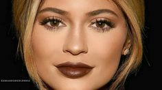 Kylie Jenner Fall Makeup Tutorial 2015 - Lets Learn Makeup Kylie Jenner Makeup Tutorial, Fall Makeup Tutorial, Learn Makeup, Brown Lip, Makeup Tutorials Youtube, Makeup Videos, Hair Beauty, Lips
