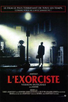 Belle affiche de cinéma du film L'Exorciste (1973)